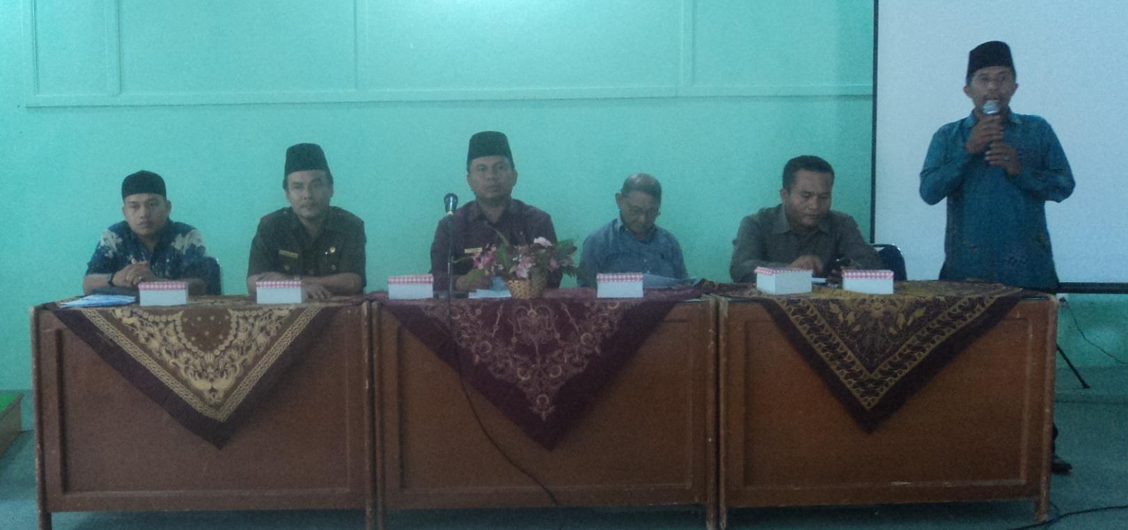 Persiapan Ujian Akhir Mdt Dan Tpq Kota Padang Kementerian Agama Provinsi Sumatera Barat