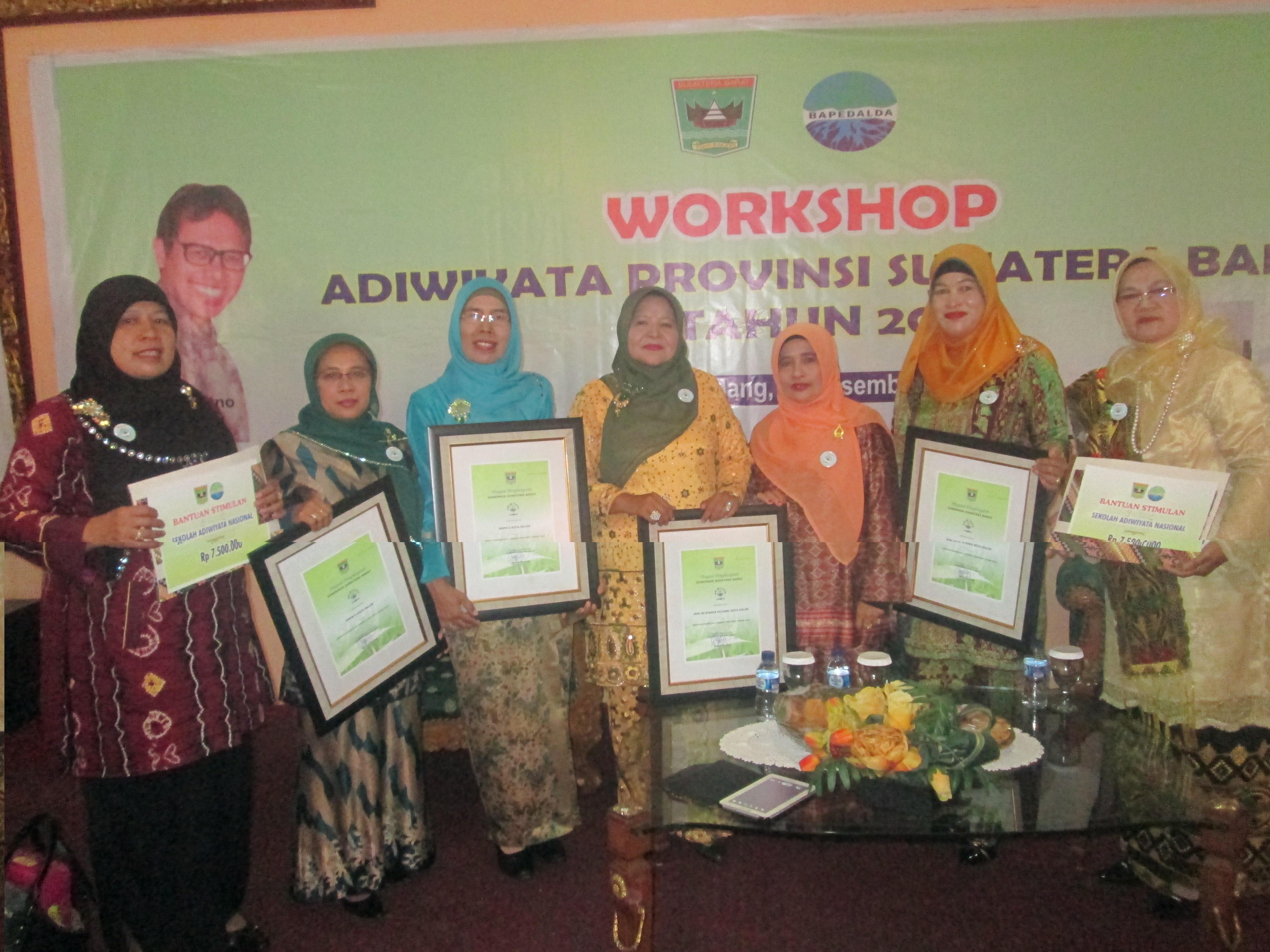 Man Kota Solok Raih Adiwiyata Nasional Kementerian Agama Provinsi Sumatera Barat