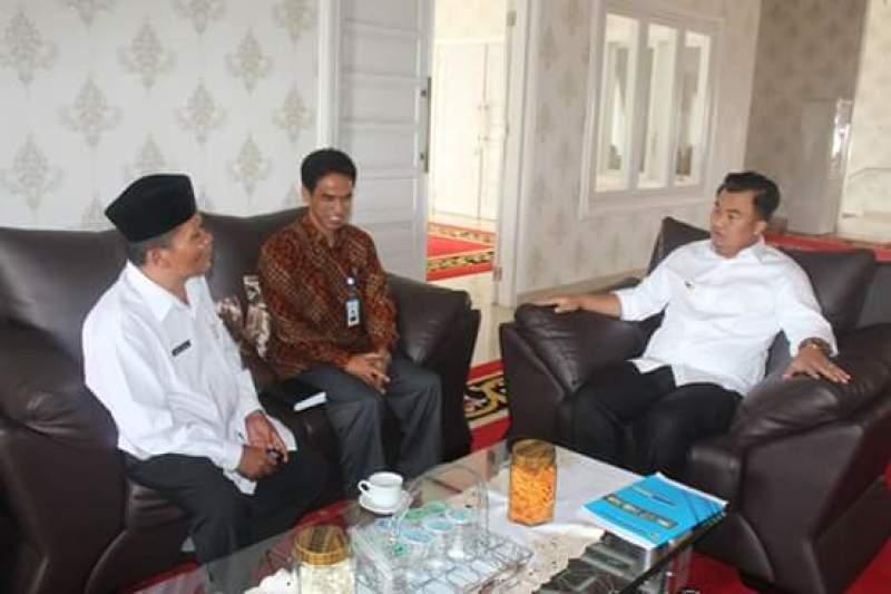 Kakan Kemenag Dharmasraya Temu Ramah Dengan Bupati Sutan Riska Kementerian Agama Provinsi Sumatera Barat