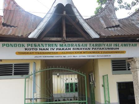 Sejarah Berdirinya MTI Pakan Sinayan Koto Nan Ompek Payakumbuh