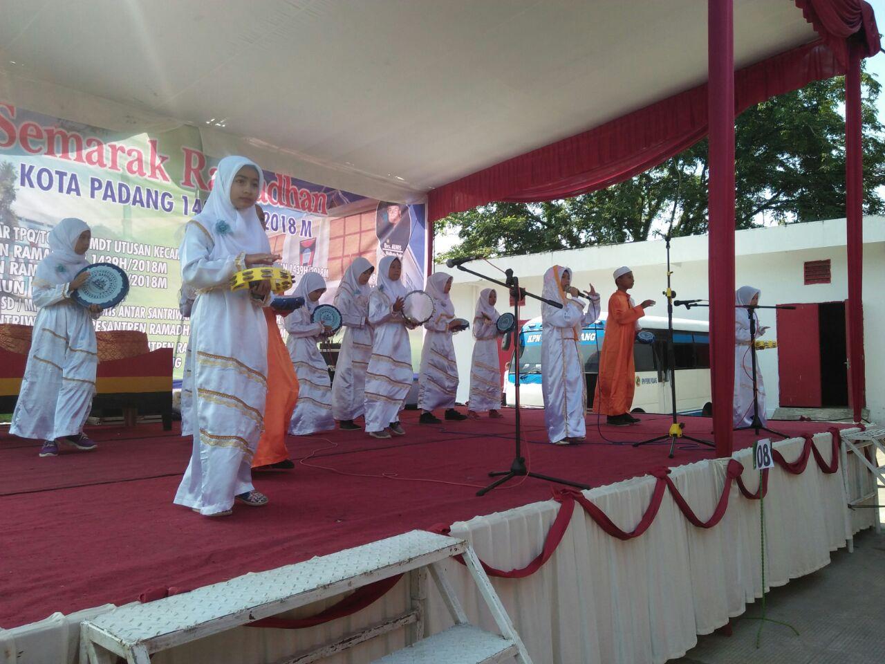 Bks Tpq Nanggalo Ikut Festival Semarak Ramadhan Di Balai Kota Padang Kementerian Agama Provinsi Sumatera Barat