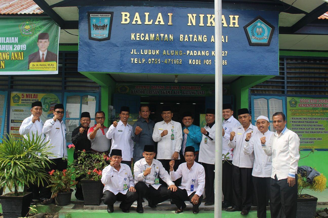 Kua Batang Anai Siap Menjadi Teladan Tingkat Provinsi Sumbar Kementerian Agama Provinsi Sumatera Barat