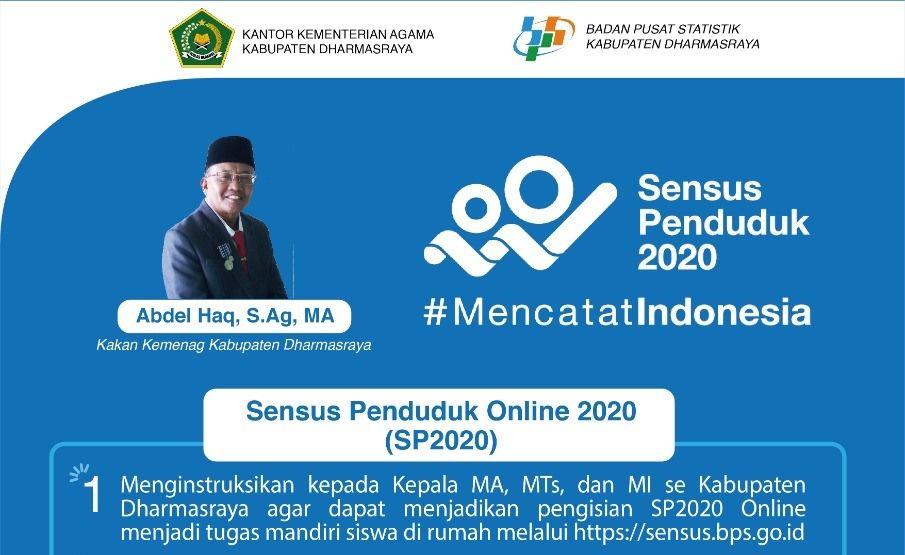 Instruksikan Kepala Madrasah Kakan Kemenag Dharmasraya Dukung Pelaksanaan Sp2020 Kementerian Agama Provinsi Sumatera Barat