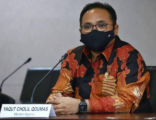 Tren Kasus Covid Turun, Menag Yaqut Minta Disiplin 5M Terus Diperkuat