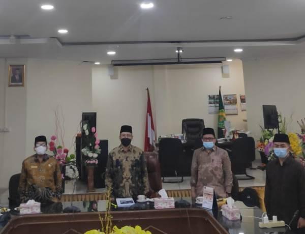 Kakanwil dan Jajaran Ikuti Halal Bihalal Idul Fitri 1442 H Virtual bersama Menag