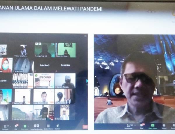 Senarai Bentang Diskusi, Irwan Prayitno: Bersama Pemerintah Kita Akhiri Pandemi