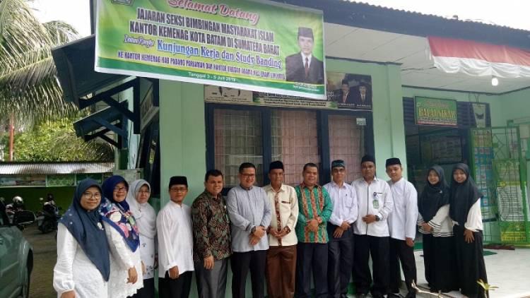 Kua Kec Enam Lingkung Terima Kunjungan Kerja Bimas Islam Kemenag Kota Batam Kementerian Agama Provinsi Sumatera Barat