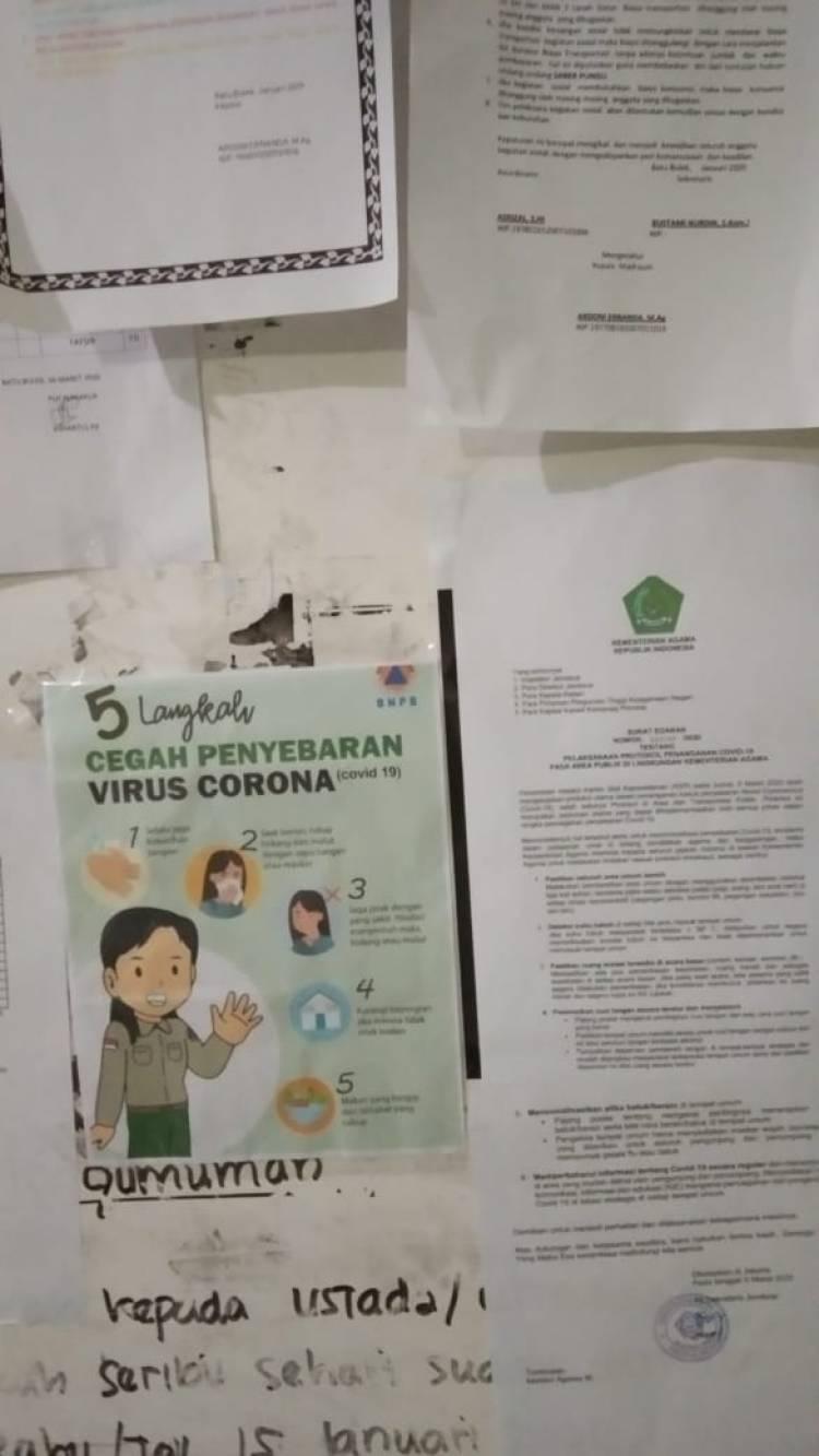 MAN 3 Tanah Datar Progress Pencegahan Virus Corona COVID 19