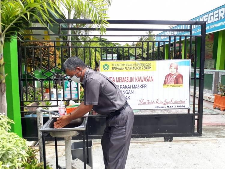 Humas MAN 2 Solok Ajak Warga Madrasah STPHB