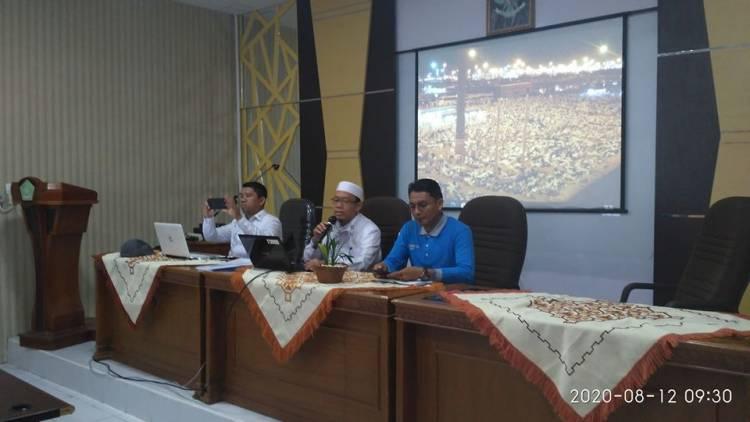Tim Kanwil Kemenag sumbar Lakukan Singkronisasi Data Manual Masjid/Mushalla Di Kota Bukittinggi