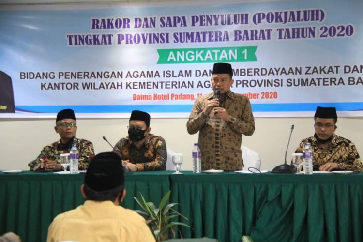 Pembicara Pamungkas, Kabag TU: Penyuluh Harus Update Dan Upgrade