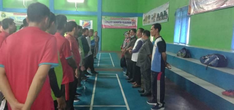 Badminton Ganda Eksekutif, Meriahkan HAB KE 75 tingkat Pasaman Barat