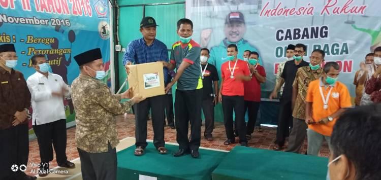 Kemenag Tanah Datar Nominasi Juara Olahraga HAB