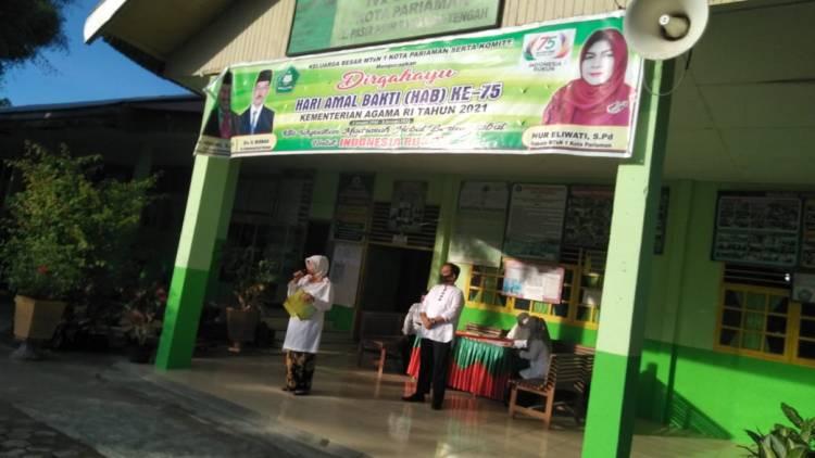 MTsN 1 Kota Pariaman Sosialisasikan PPDB MAN IC dan MAPK kepada Siswa Kelas IX