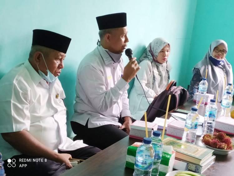 Kemenag Lima Puluh Kota Pantau Pemanfaatan BOP TPQ/MDTA Kecamatan Kapur IX
