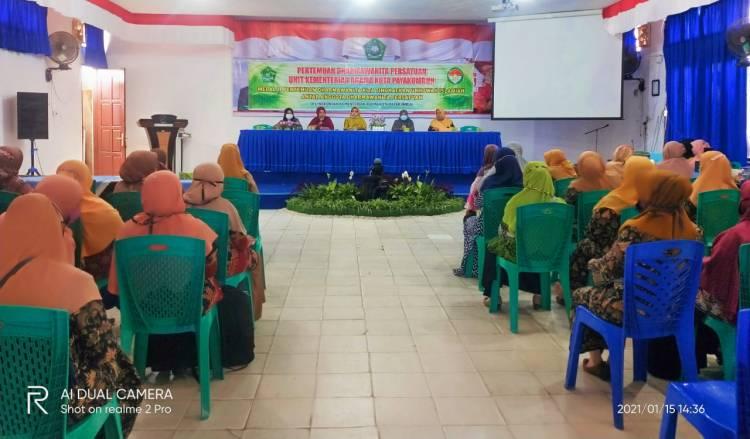 Ketua DWP Kemenag Kota Payakumbuh pimpin Pertemuan Bulanan