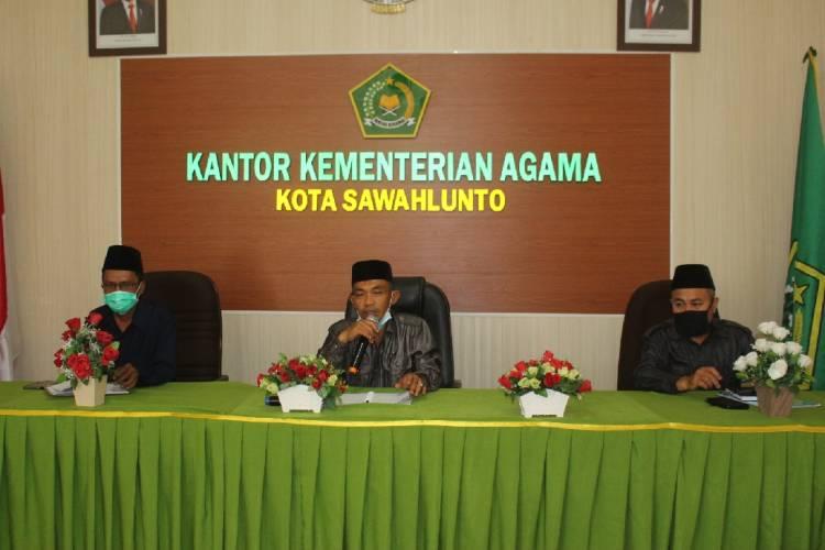 Wujudkan Madrasah Hebat Bermartabat, Kemenag Kota Sawahlunto Ajak Madrasah Rapatkan Barisan