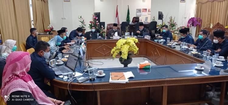 Kepala, Kabag Tata Usaha bersama Pejabat Kanwil, Ikuti Sosialisasi Penerapan Aplikasi si-Guntur