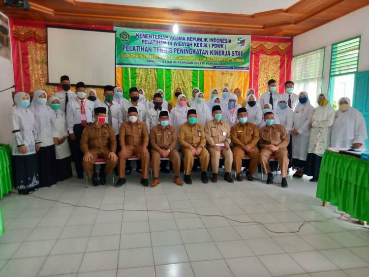Mantapkan Sumberdaya ASN, Kankemenag Solsel Gelar Kegiatan Pelatihan di Wilayah Kerja