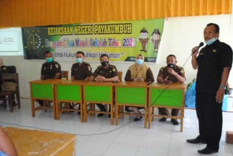 Jaksa Masuk Sekolah, Kenali Hukum Jauhkan Hukuman