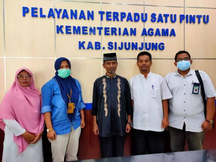 KPKNL Padang Sambangi Kantor Kemenag Sijunjung
