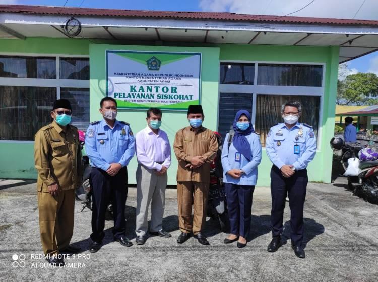 Jamaah Haji Kabupaten Agam Dapatkan Layanan Eazy Passport