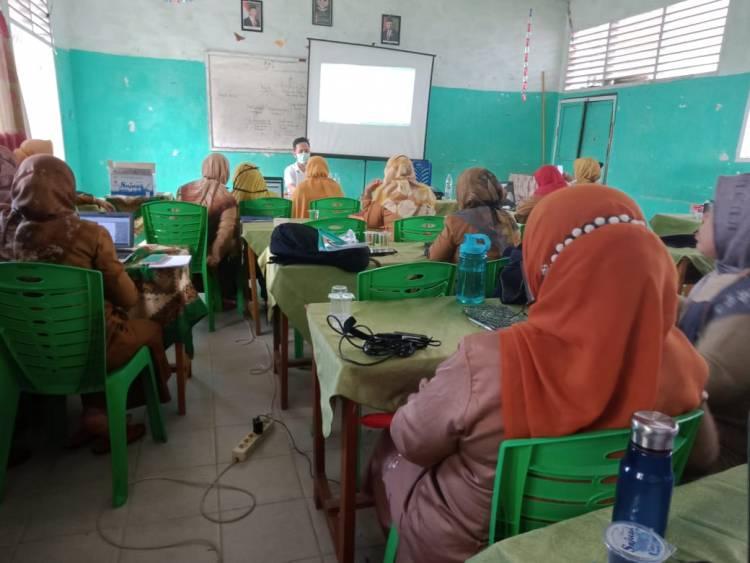 Semangat E-Learning  Di MTsN 5 Kota Padang