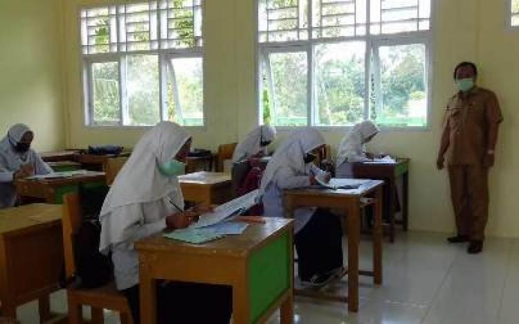 126 siswa MTsN 4 Liko Ikuti Try Out