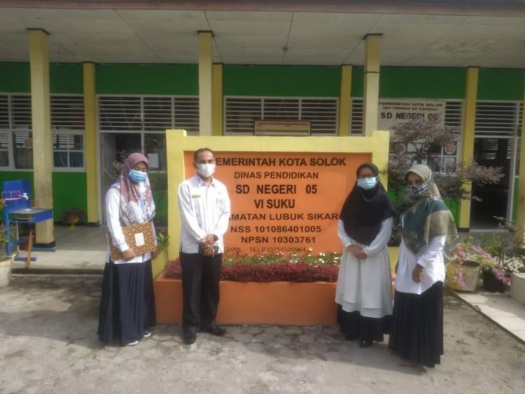 Motivasi Sekolah,   Kemenag Kota Solok  Laksanakan Monev  US  PAI
