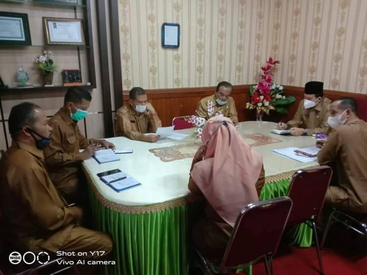 Kemenag Kota Payakumbuh Rapat tindak lanjut Surat Edaran Menag SE Nomor 04 Tahun 2021