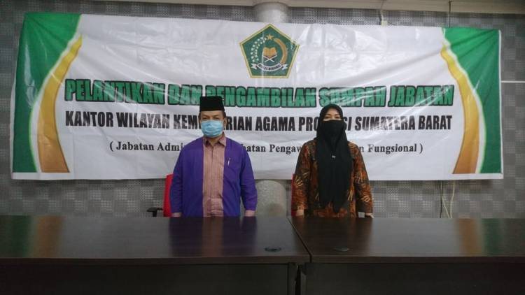 Sekjend Kemenag RI Lantik 108 Prahum, Tujuh dari Sumatera Barat