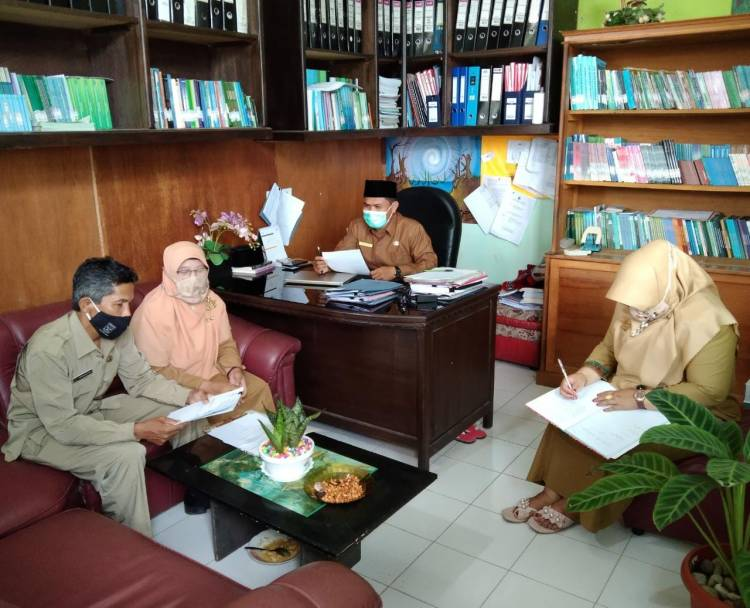 Kasi Bimas Islam Pimpin Rapat Pasca Idul Fitri 1442 H Seksi Bimas Islam Kankemenag Kabupaten Agam