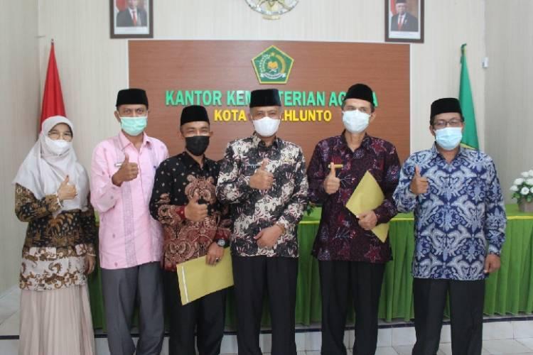 Dua Pejabat Struktural Kemenag Kota Sawahlunto Beralih Ke Fungsional