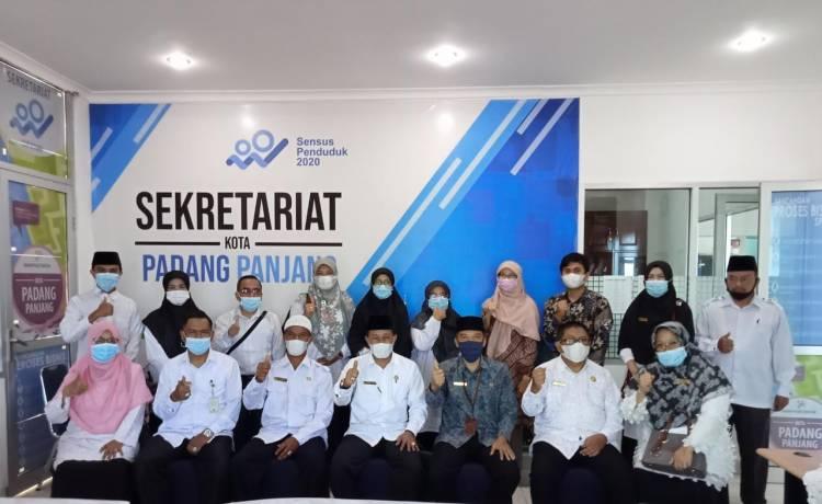 Siap Menuju WBK, Kemenag Kota Padang Panjang Rancang MoU dengan BPS