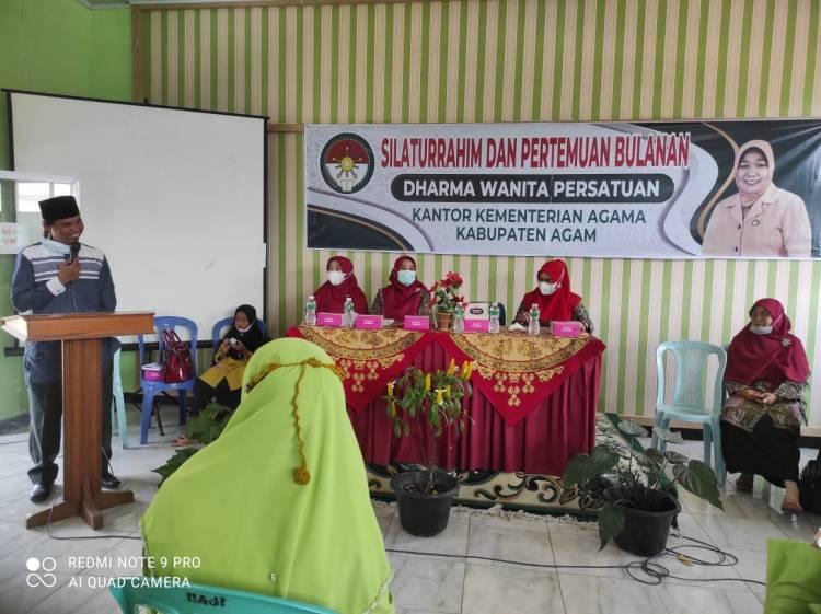 Pertemuan Bulanan DWP Kemenag Agam Memperbaiki Hubungan antara Sesama