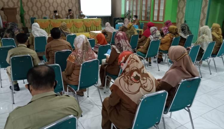 Jajaran Kankemenag Kota Padang Gelar Rakor  Pengelolaan Anggaran