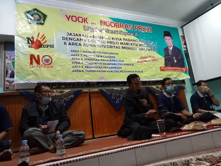 Kemenag Kota Padang Panjang Kembali Gelar NGOBRAS PROZI