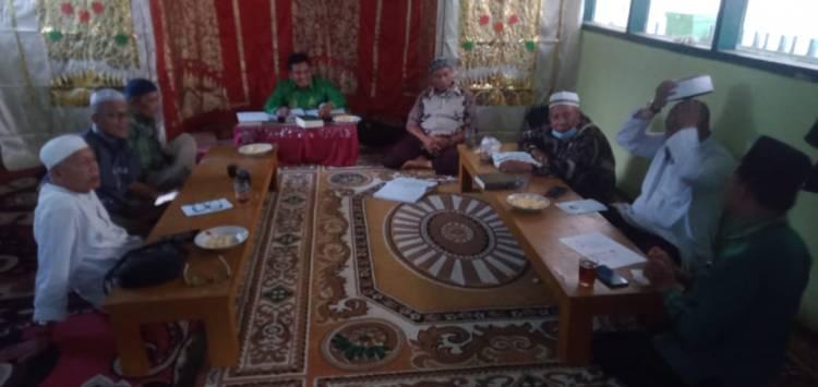 Kepala KUA Kec. IV Angkek Sosialisasikan SE Menag No. 15 Tahun 2021