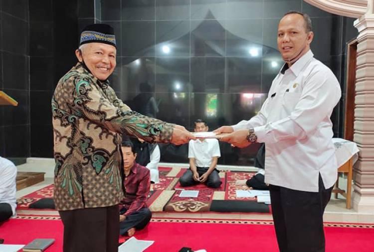 Pertemuan Komite, Warnai Hari Pertama T.A Baru di MTsN 2 Solok