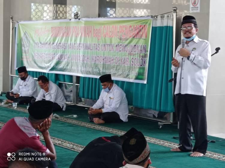 Kemenag Kab. Solok Gelar Binwin di Islamic Center Koto Baru