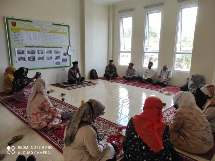 Kepala KUA Kecamatan Banuhampu Optimalkan Sosialisasi SE Menag Nomor 15 Tahun 2021 dan Perkenalkan Penyuluh Agama