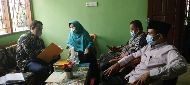 Supervisi PNBP/ NR di KUA Kecamatan Lareh Sago Halaban