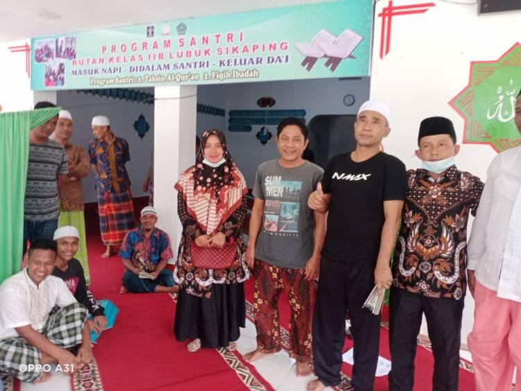 """Penyuluh Honorer Padang Gelugur : """"Masuk Napi, Di Dalam Santri, Keluar Da'i"""""""