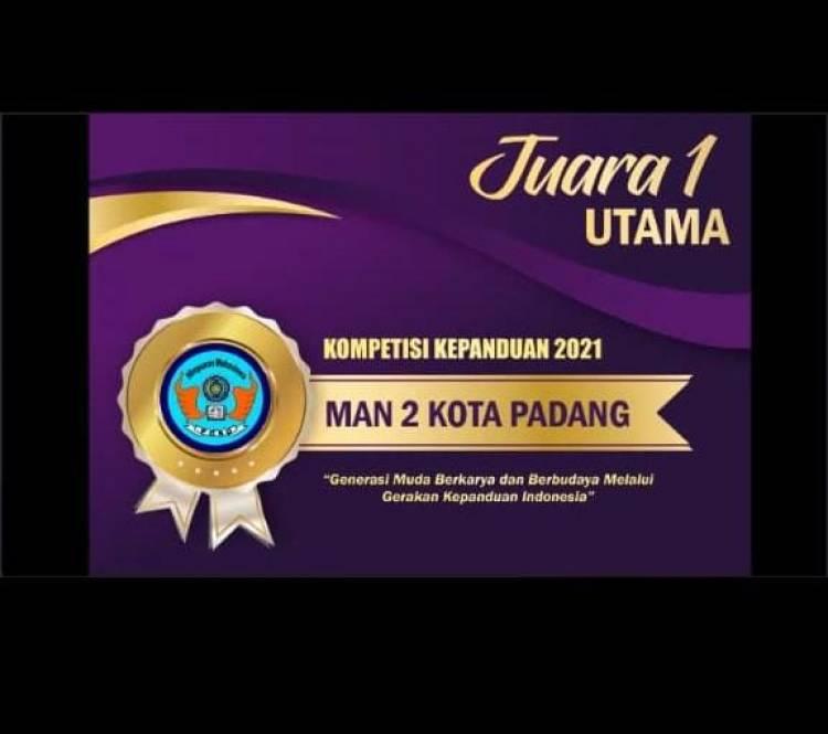Hebat, Pramuka Sanggar Bhakti Rumpun Bambu MAN 2 kota Padang Juara Umum Tingkat Nasional
