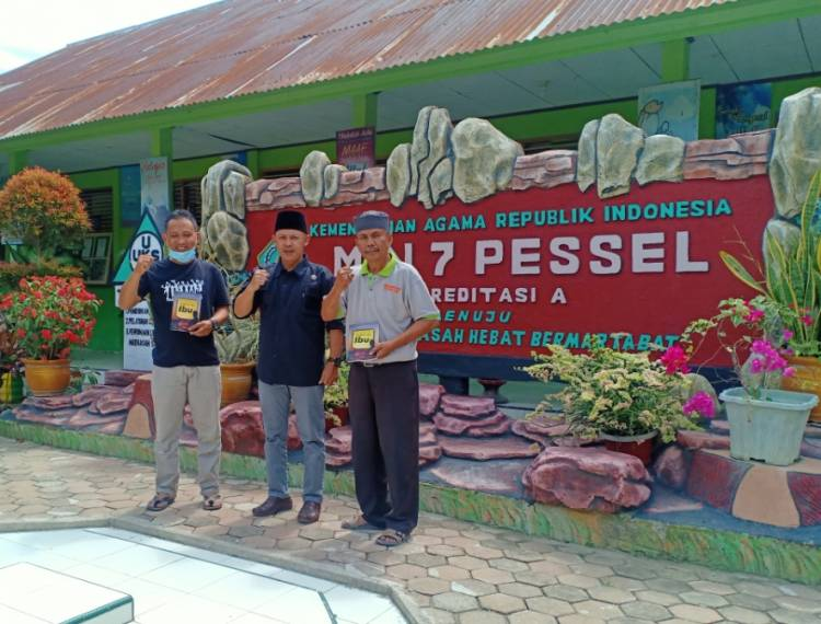 MIN 7 Pessel Terima  Kunjungan Inspiratif Dari Tim Visitasi Adiwiyata Kabupaten