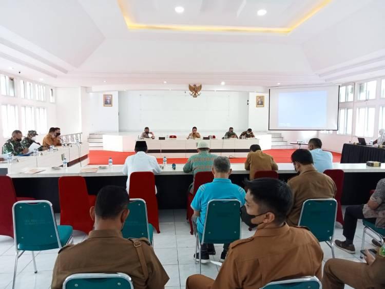 Padang Panjang PPKM Level 3, Kakankemenag Ikuti Rapat Bersama Forkopimda