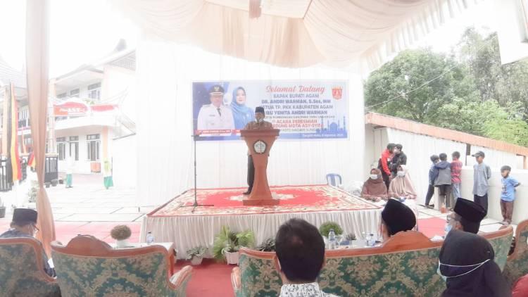 Kakankemenag Agam Apresiasi Keberadaan Gedung Baru MDTA Plus Asy Syifa yang Dibangun dengan Swadaya Masyarakat