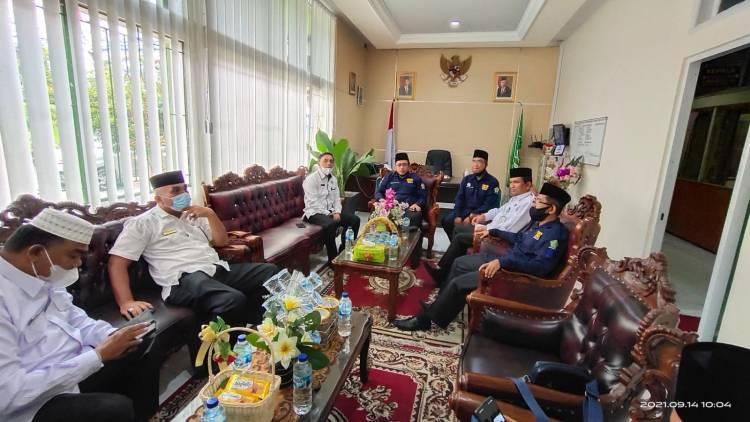 Kemenag Pessel Terima Kunjungan Tim Pembangunan ZI Kemenag Solok