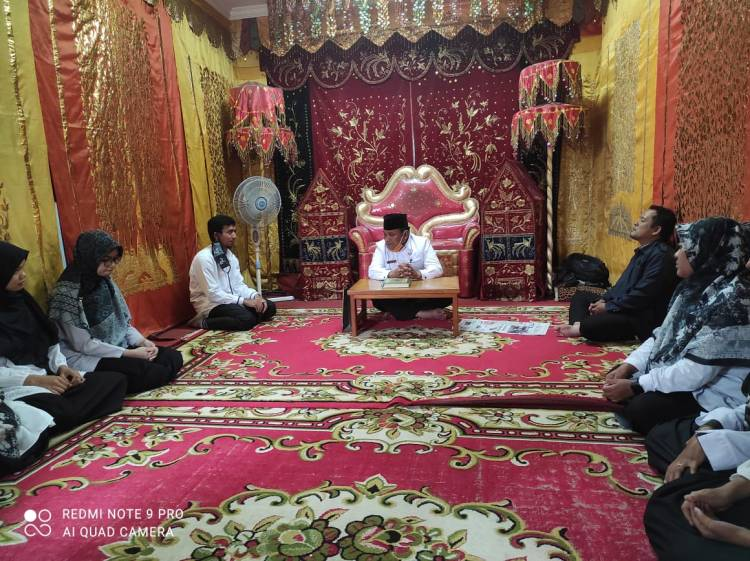 Kepala KUA Kecamatan Banuhampu Lepas Mahasiswa Magang UIN Malang